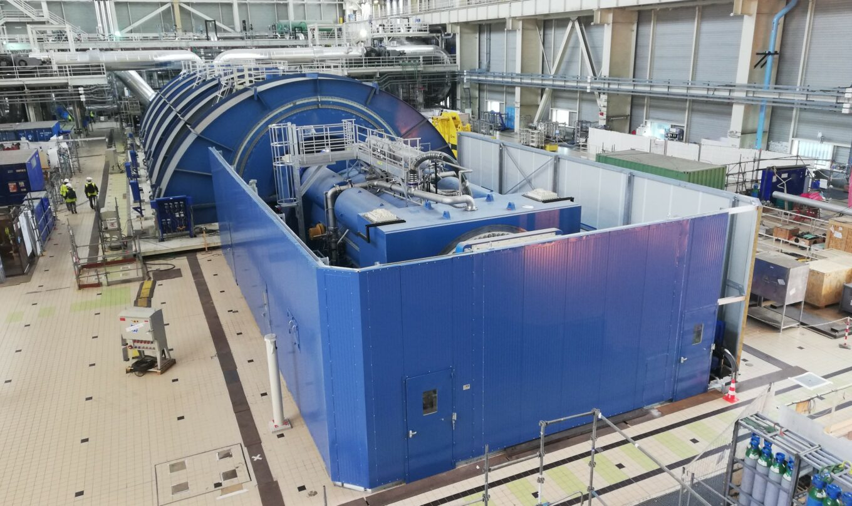 Capotage acoustique Alternateur Turbine à gaz Centrale électrique GE ALSTOM