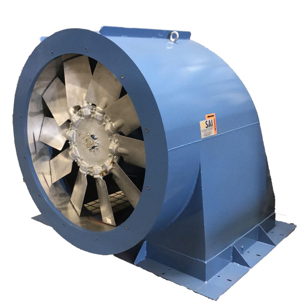Extraction d'air chaud Capotage acoustique Ventilateur bas niveau de bruit