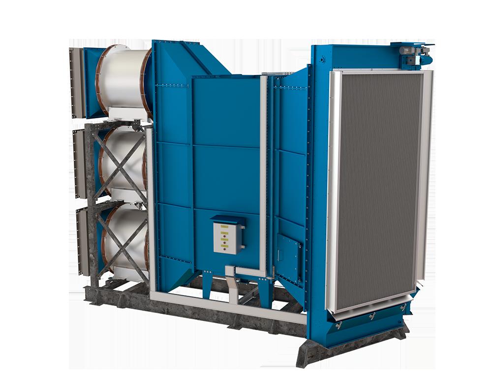 LNG Terminal Oman LNG MAN 18V51/60G Gas engine  Oil bath filters  Engine hall ventilation units ATEX Viscosine AAF Multiduty Filtrotecnica  Viscous air filter Seashore Wärtsilä MAN  CAT MWM Clarcor Autoflo Auto-flo 2000 Shell Tellus