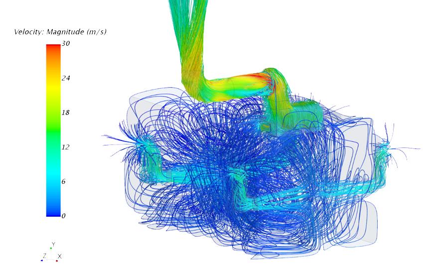 Ventilation turbine aéraulique surpression vitesse