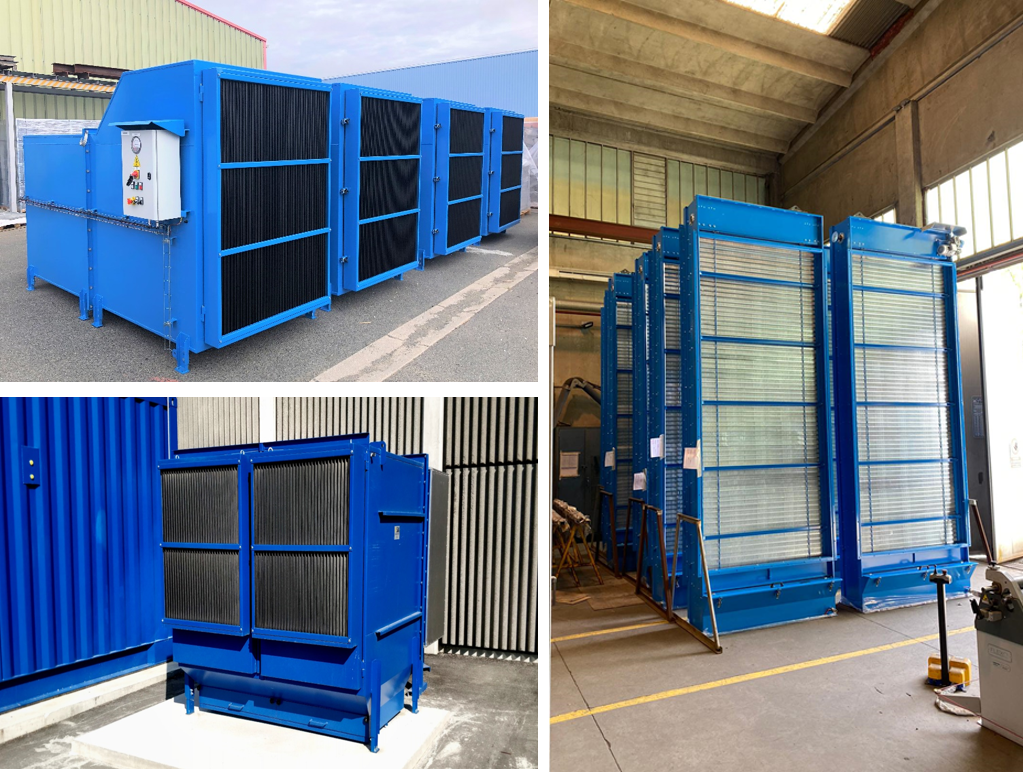 HFO engine power plant  Diesel engine MAN 18V51/60TS Kossodo Burkina Faso Sonabel Power house ventilation system  Viscosine AAF Multiduty Filtrotecnica Panel filter Clarcor Autoflo Viscous automatic self-cleaning filter Shell Tellus ISO 5011(BS 7226)